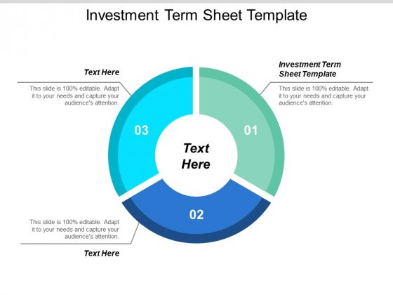 Investment Term Sheet Template Ppt Powerpoint Presentation Infographics Display Cpb