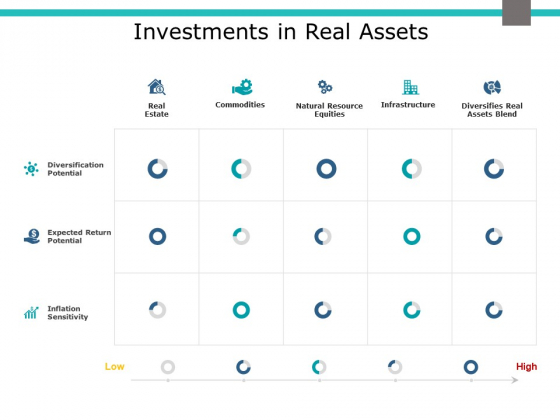 Investments In Real Assets Ppt PowerPoint Presentation Icon Portrait