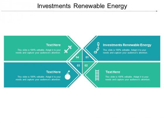 Investments Renewable Energy Ppt PowerPoint Presentation Slides Template Cpb Pdf