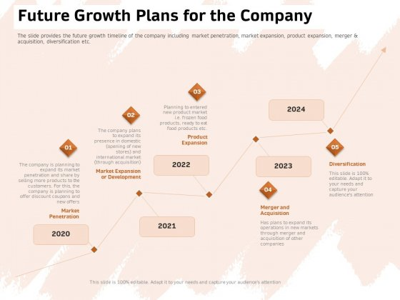 Investor Deck For Capital Generation From Substitute Funding Options Future Growth Plans For The Company Elements PDF