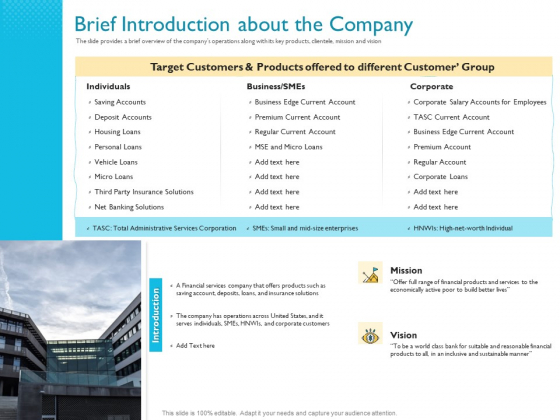Investor Funding Deck For Hybrid Financing Brief Introduction About The Company Ppt File Microsoft PDF