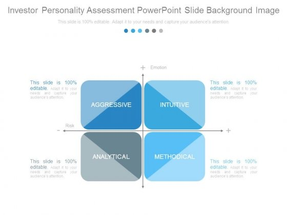 Investor Personality Assessment Powerpoint Slide Background Image