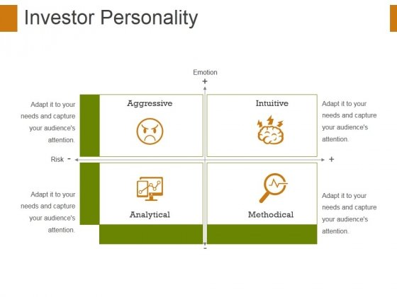 Investor Personality Template 1 Ppt PowerPoint Presentation Inspiration Visuals