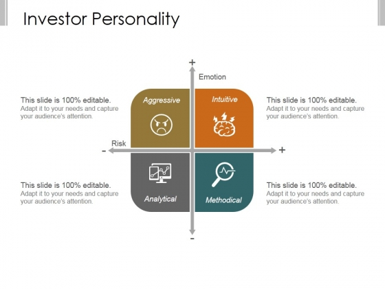 Investor Personality Template 1 Ppt PowerPoint Presentation Shapes