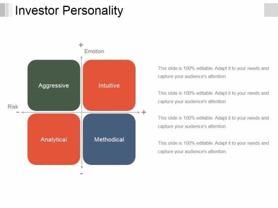 Investor Personality Template 2 Ppt PowerPoint Presentation Professional Guidelines