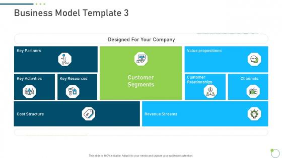 Investor Pitch Deck New Venture Capital Raising Business Model Value Information PDF