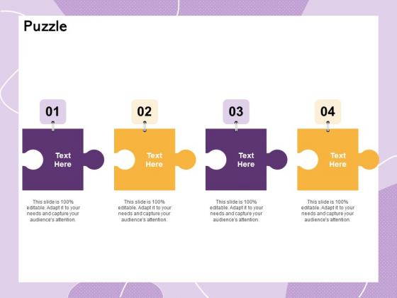 Investor Presentation For Society Funding Puzzle Ppt PowerPoint Presentation Inspiration Design Inspiration PDF