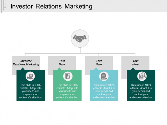 Investor Relations Marketing Ppt Powerpoint Presentation Model Designs Download Cpb