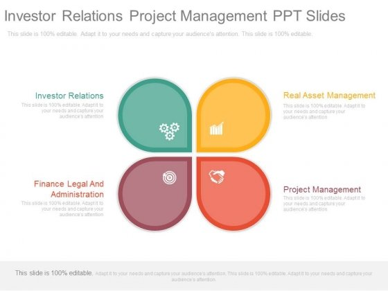 Investor Relations Project Management Ppt Slides
