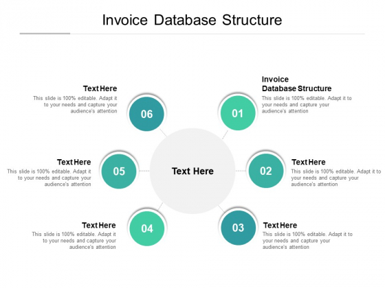 Invoice Database Structure Ppt PowerPoint Presentation Summary Background Designs Cpb