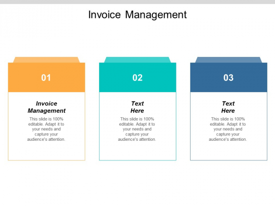 Invoice Management Ppt PowerPoint Presentation Outline Layout Ideas Cpb