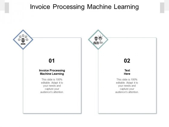 Invoice Processing Machine Learning Ppt PowerPoint Presentation Styles Pictures Cpb Pdf