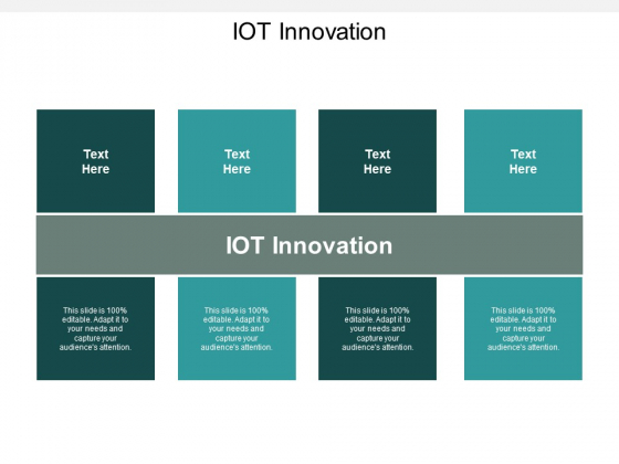 Iot Innovation Ppt Powerpoint Presentation Ideas Outfit Cpb