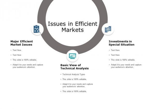 Issues In Efficient Markets Ppt PowerPoint Presentation Icon Gallery