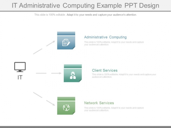 It Administrative Computing Example Ppt Design