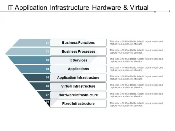 It Application Infrastructure Hardware And Virtual Ppt PowerPoint Presentation Slides Vector