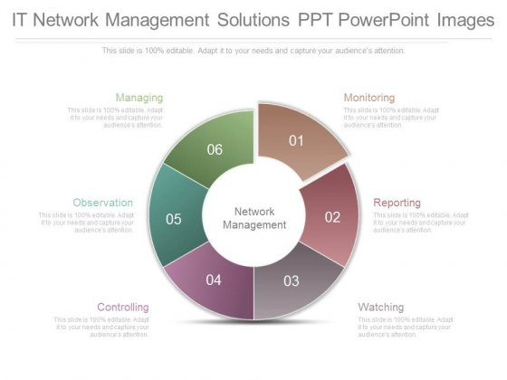 It Network Management Solutions Ppt Powerpoint Images