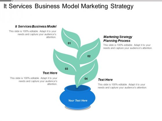 It Services Business Model Marketing Strategy Planning Process Ppt PowerPoint Presentation Portfolio Vector