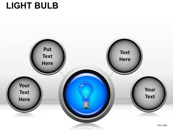 Idea Network Light Bulb PowerPoint Slides And Ppt Diagram Templates