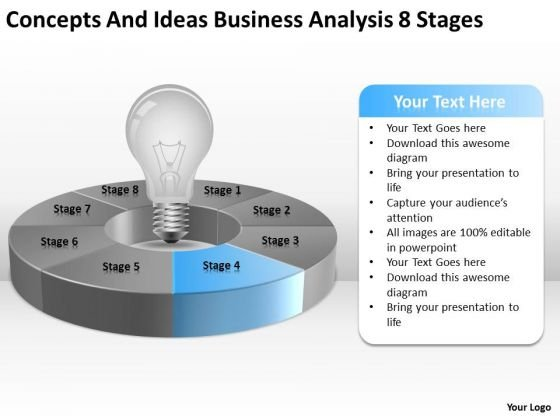 Ideas Business Analysis 8 Stages Ppt Plan For Small PowerPoint Templates