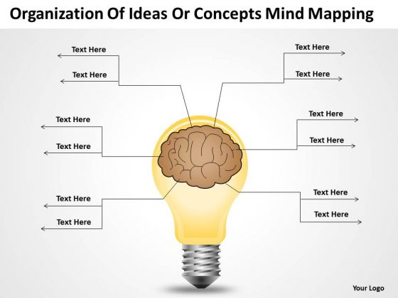 Ideas Or Concepts Mind Mapping Ppt Who Writes Business Plans PowerPoint Templates