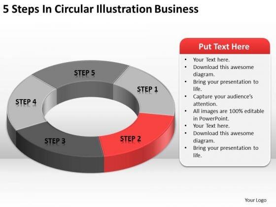 Illustration Business PowerPoint Presentation Plans Sample Slides