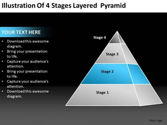Layered Pyramid Powerpoint Templates Slides And Graphics