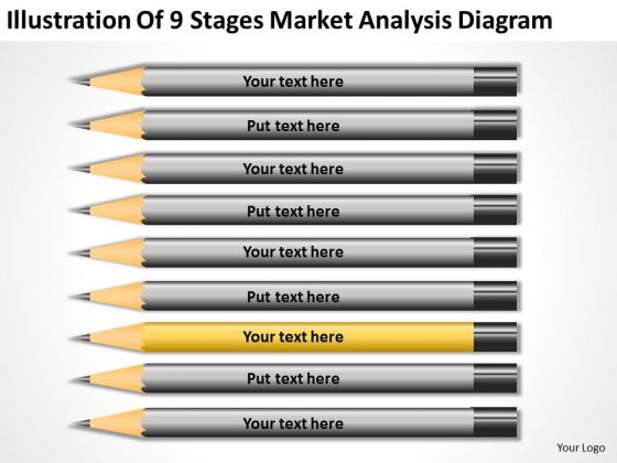 Illustration Of 9 Stages Market Analysis Diagram Ppt Business Plan Companies PowerPoint Slides