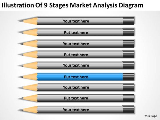 Illustration Of 9 Stages Market Analysis Diagram Ppt Business Plan Tools PowerPoint Templates
