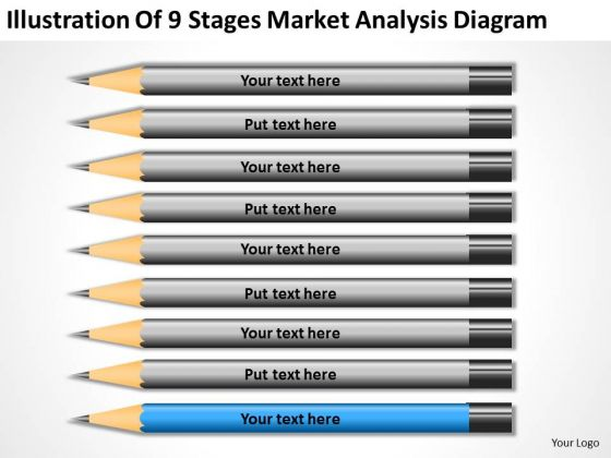 Illustration Of 9 Stages Market Analysis Diagram Ppt Personal Business Plan PowerPoint Templates