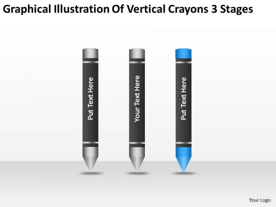 Illustration of vertical crayons 3 stages ppt business plan template powerpoint templates illustrationofverticalcrayons3stagespptbusinessplantemplatepowerpointtemplates1 toneelgroepblik Images
