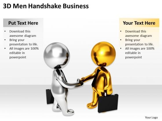 Images Of Business People Handshake PowerPoint Templates Free Download Slides