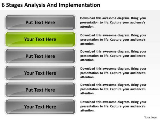 Implementation Non Emergency Transportation Business Plan PowerPoint Slides