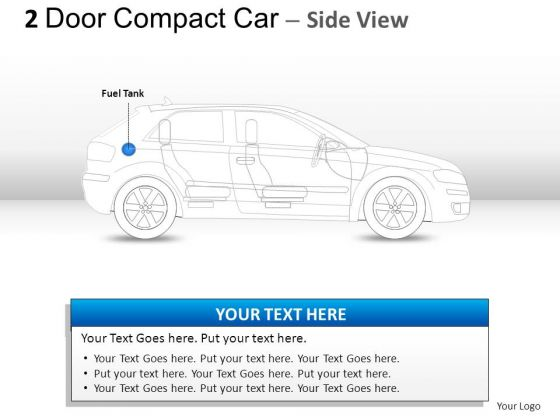 Import Toy 2 Door Blue Side Car PowerPoint Slides And Ppt Diagram Templates