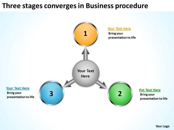In E Business PowerPoint Presentation Procedure Charts And Slides
