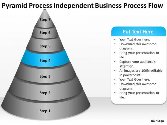 Independent Business Flow Ppt Examples Plan Outline PowerPoint Templates