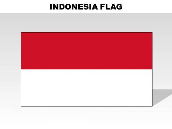 Indonesia Country PowerPoint Flags