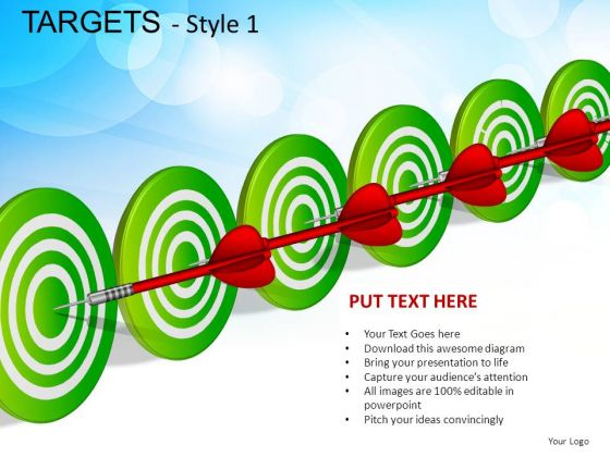 Industrial Targets 1 PowerPoint Slides And Ppt Diagram Templates