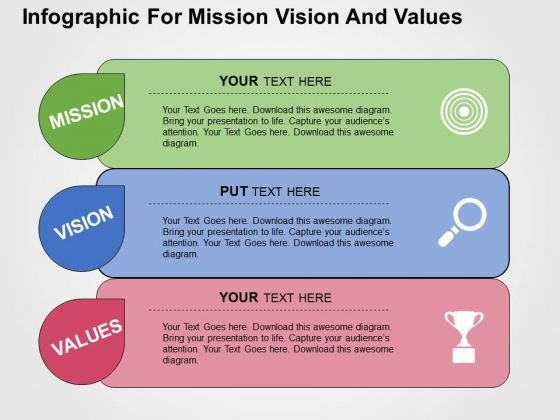 Infographic for mission vision and values powerpoint template infographic for mission vision and values powerpoint template powerpoint templates toneelgroepblik Images