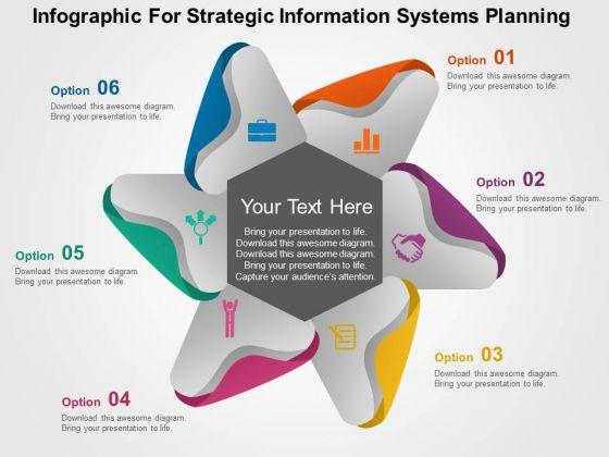 Infographic For Strategic Information Systems Planning PowerPoint Template