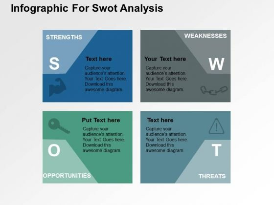 Infographic For Swot Analysis PowerPoint Template