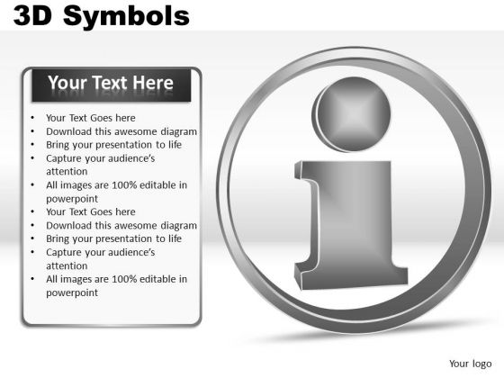 Information Symbols PowerPoint Slides And Ppt Diagrams Templates