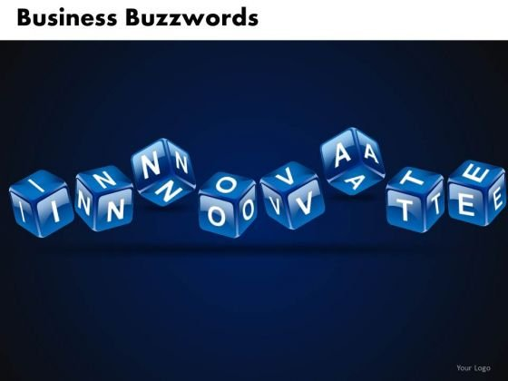 Innovate Business Buzzwords PowerPoint Templates
