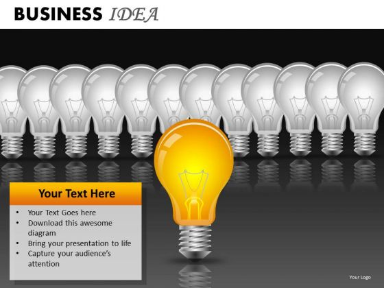 Innovation Business Strategy PowerPoint Ppt Templates Idea Ppt Slides