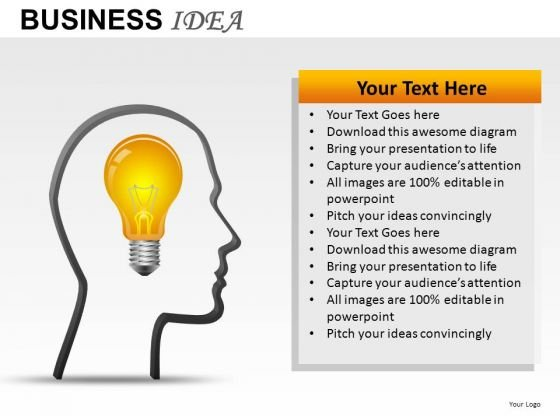 Innovative Business Idea PowerPoint Slides And Ppt Diagram Templates