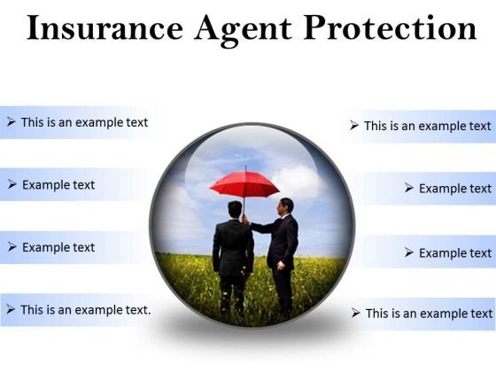 Insurance Agent Protection Security PowerPoint Presentation Slides C