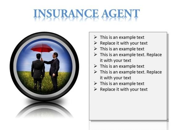 Insurance Agent Protection Security PowerPoint Presentation Slides Cc
