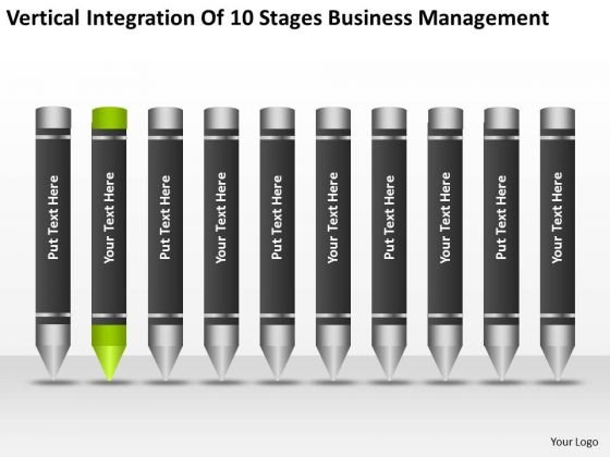 Integration Of 10 Stages Business Management Ppt Construction Plan PowerPoint Templates