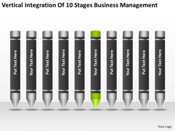 Integration Of 10 Stages Business Management Ppt How To Create Plan PowerPoint Slides