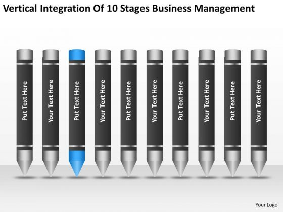 Integration Of 10 Stages Business Management Ppt Planning Process PowerPoint Slides